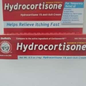 Dr Shef Hydrocortisone 1% cream 0.5 oz.