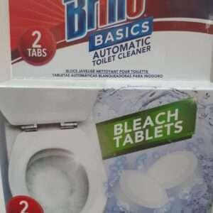 Brillo T. Bowl Bleach Green Tab 2Pack