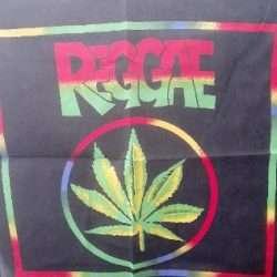 Reggae Bandana 21″x21″ 100% Cotton