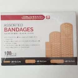 Bandages Assorted 100pcs