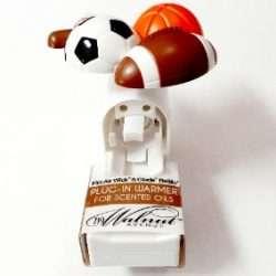 Soccer Shape Plugin Warmer For Scented Oils