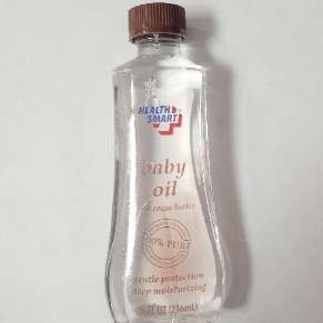 Baby Oil 8 oz With Cocoa Butter