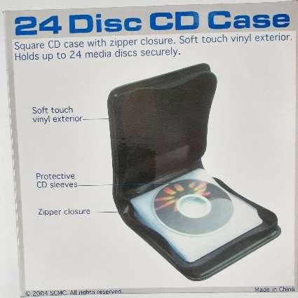 CD Case Holder For 24 CD's